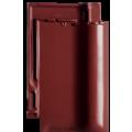 Черепица Futura винно-красная ангоба