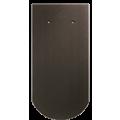 Черепица Biber Klassik темно-коричневая ангоба