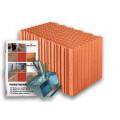 Блок керамический  Porotherm 44 Eko+ Profi