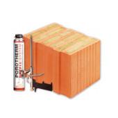 Блок керамический  Porotherm 38 T Dryfix