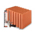 Блок керамический  Porotherm 44 Dryfix