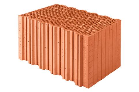 Изображение пустотелого керамического блока Porotherm
