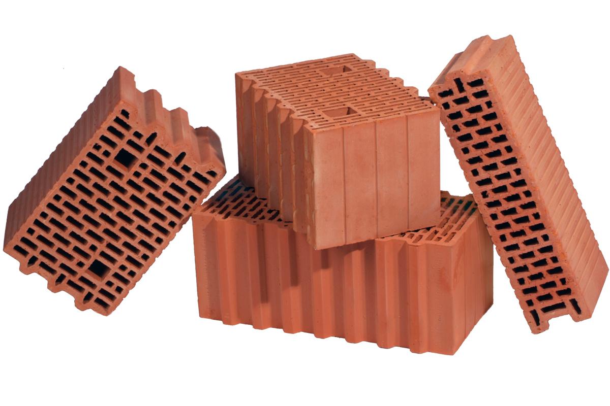 Зображення пустотілого керамічного блока Porotherm
