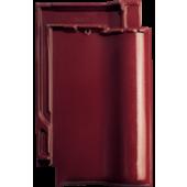 Черепица Futura винно-красная глазурь