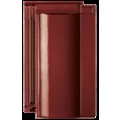 Черепица Terra Optima винно-красная глазурь