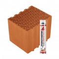 Блок керамический  Porotherm 30 Klíma Dryfix