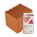 Блок керамический  Porotherm 30 Klíma Profi