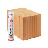 Блок керамічний Porotherm  38 T Dryfix