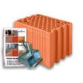 Блок керамический  Porotherm 25 Profi