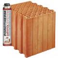 Блок керамический  Porotherm 30 Dryfix